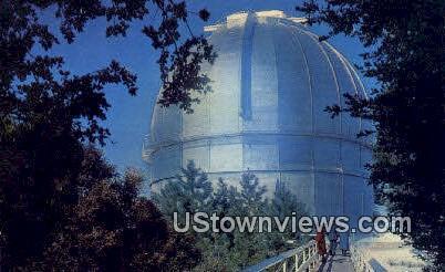 Observatory - Mt. Wilson, California CA Postcard