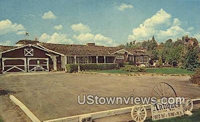 Knoll Haven Antiques - Yucaipa, California CA Postcard