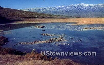 Badwater - Death Valley, California CA Postcard