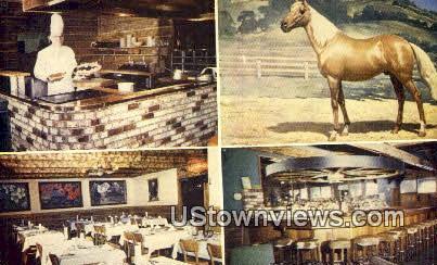 Village Saddle N Sirloin - Santa Rosa, California CA Postcard