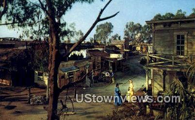 Main Street - Buena Park, California CA Postcard
