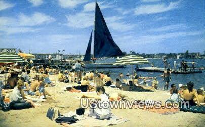 Fun Zone - Balboa, California CA Postcard
