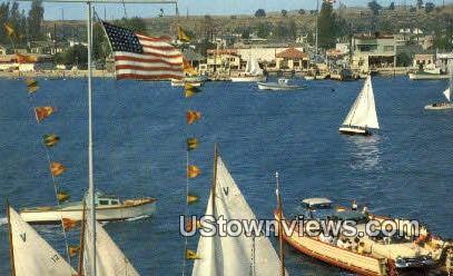 Balboa - Balboa Island, California CA Postcard