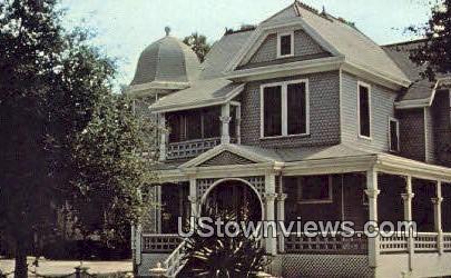 William A. Howell House - Bakersfield, California CA Postcard