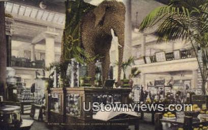Chamber of Commerce - Los Angeles, California CA Postcard