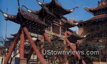 New Chinatown - Los Angeles, California CA Postcard