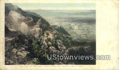 Great Loop - Mt. Lowe, California CA Postcard