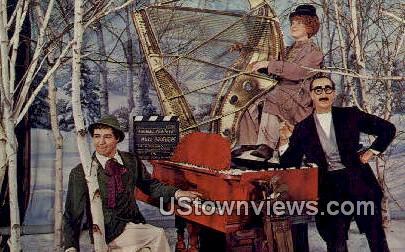 Marx Brothers - Buena Park, California CA Postcard