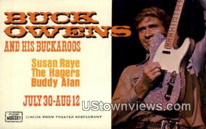 Buck Owens - MIsc, California CA Postcard