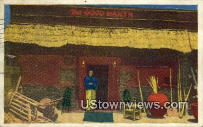 House of Wange - Los Angeles, California CA Postcard