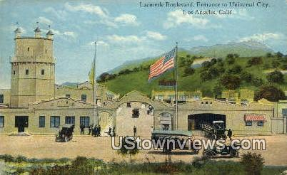 Laemmie Blvd - Los Angeles, California CA Postcard
