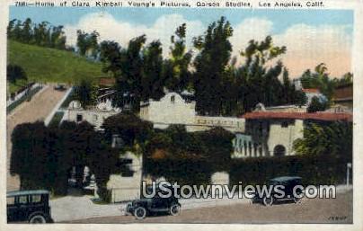 Home of Ciara Kimball - Los Angeles, California CA Postcard