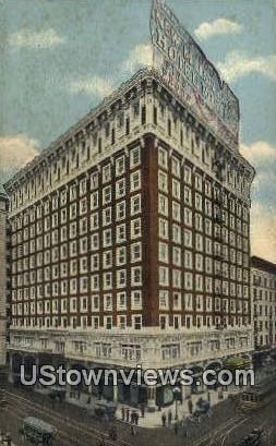 Hotel Rosslyn - Los Angeles, California CA Postcard