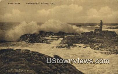 Carmel-by-the-Sea - Carmel by the Sea, California CA Postcard