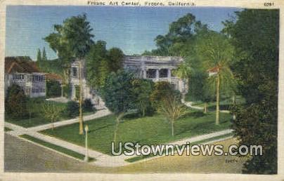 Fresno Art Center - California CA Postcard
