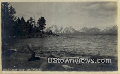 Mt. Tallas - Lake Tahoe, California CA Postcard