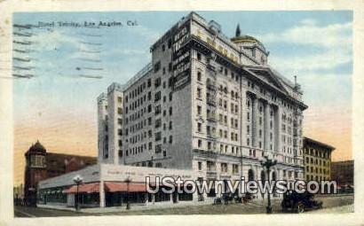 Hotel Trinity - Los Angeles, California CA Postcard
