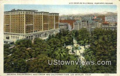 Ls Angeles Biltmore - Los Angeles, California CA Postcard