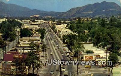 Ventura Blvd - Los Angeles, California CA Postcard