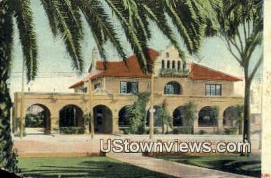 Woman's Club House - Los Angeles, California CA Postcard