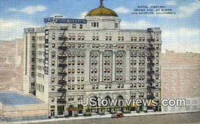 Hotel Embassy - Los Angeles, California CA Postcard
