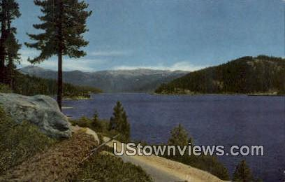 Huntington Lake - Fresno, California CA Postcard