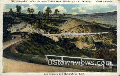 Antelope Valley - Los Angeles, California CA Postcard