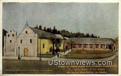 Old Fathers' Residence - Los Angeles, California CA Postcard