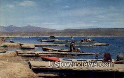 Crowley Lake - Los Angeles, California CA Postcard