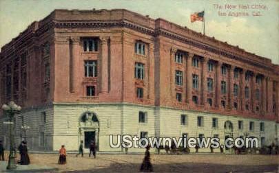 New Post Office - Los Angeles, California CA Postcard