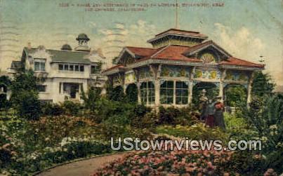 Residence of Paul De Longpre - Los Angeles, California CA Postcard