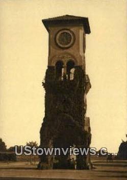 Beale Clock Tower - Bakersfield, California CA Postcard