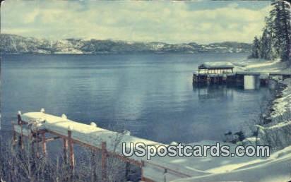 Lake Tahoe, CA Postcard       ;       Lake Tahoe, California
