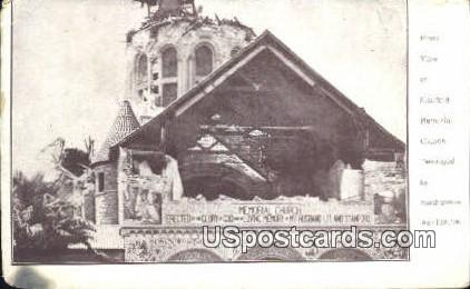 Stanford Memorial Church Destroyed 1906 - Los Angeles, California CA Postcard