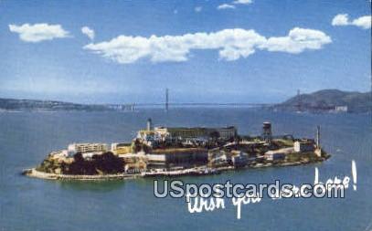 Alcatraz Island, California Postcard        ;       Alcatraz Island, CA