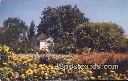 Luther Burbank's Home & Gardens - Santa Rosa, California CA Postcard
