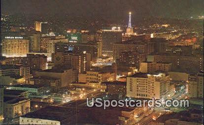 Downtown, Occidental Building - Los Angeles, California CA Postcard