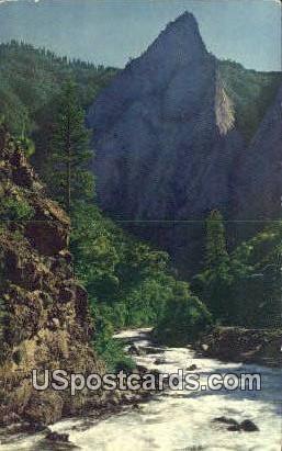 Kings Canyon Highway - Cedar Grove, California CA Postcard