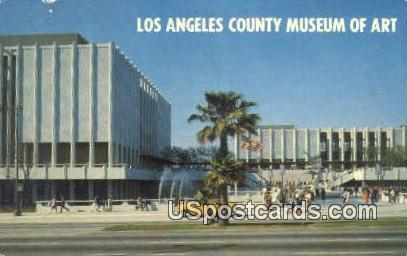 Los Angeles County Museum of Art - California CA Postcard