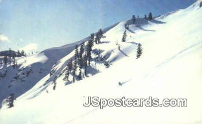 Squaw Valley - Lake Tahoe, California CA Postcard