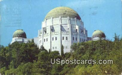 Solar Telescope, Planetarium Theatre - Los Angeles, California CA Postcard