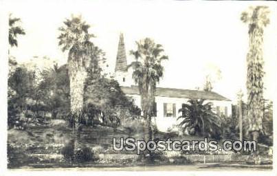 Real Photo - Los Angeles, California CA Postcard