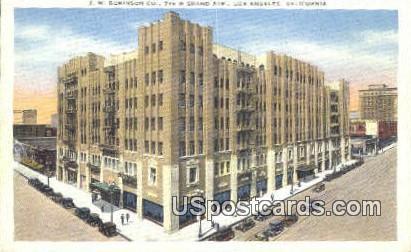 JW Robinson Co - Los Angeles, California CA Postcard