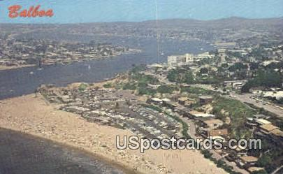 Balboa, CA Postcard       ;       Balboa, California