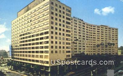 Los Angeles Hilton - California CA Postcard