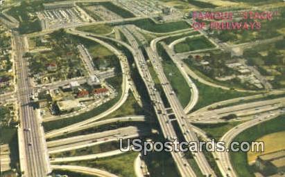 Los Angeles, California Postcard        ;       Los Angeles, CA