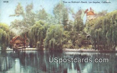 Baldwin's Ranch - Los Angeles, California CA Postcard