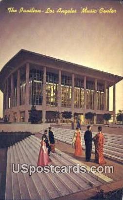 Pavilion, Music Center - Los Angeles, California CA Postcard
