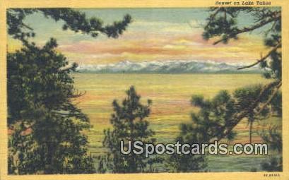 Lake Tahoe, California Postcard        ;       Lake Tahoe, CA