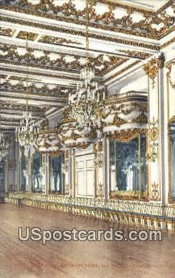 Ball Room, Fairmont Hotel - San Francisco, California CA Postcard